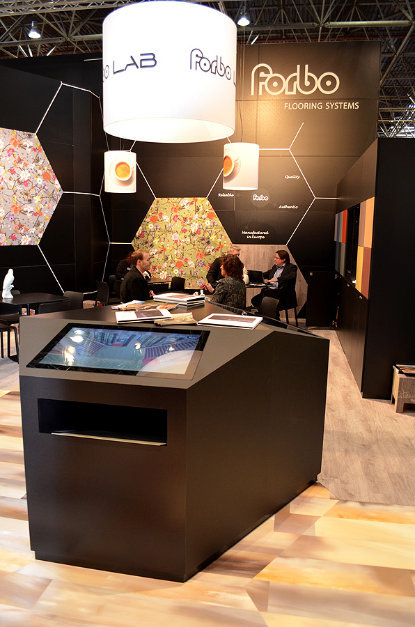 forbo flooring euroshop 2014 pader messebau gmbh. Black Bedroom Furniture Sets. Home Design Ideas